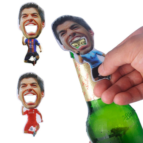 Luis Suarez Biting Bottle Opener - The Drunk Boutique