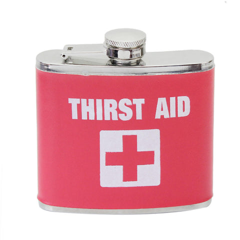 Thirst aid Hip Flask - The Drunk Boutique