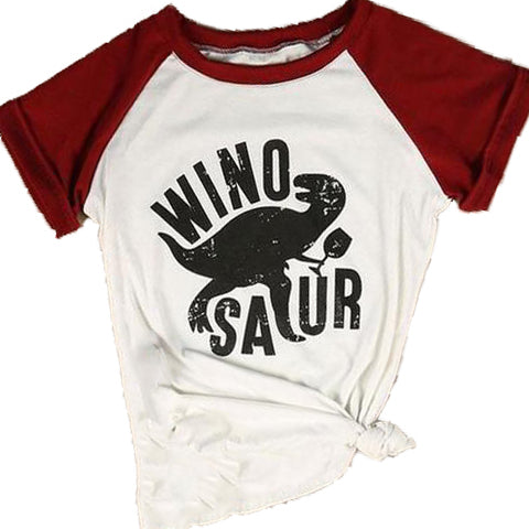 WinoSaur T-shirt - The Drunk Boutique