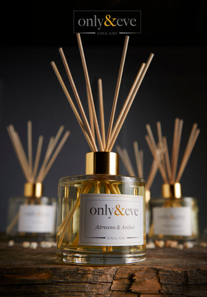 Win a 200ml luxury scented Atreano & Amber diffuser