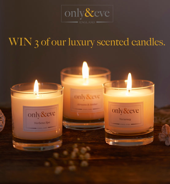 Win 3 of our Luxury Scented Candles!