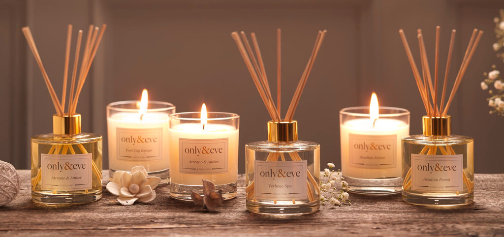 Luxury Scented Candles and Reed Diffusers - Only & Eve