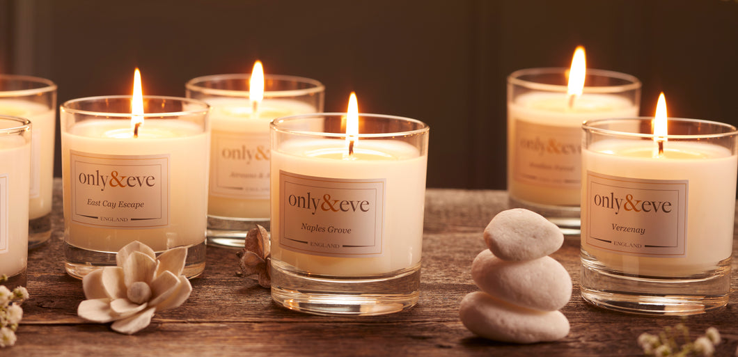 Luxury Scented Candles by Only & Eve