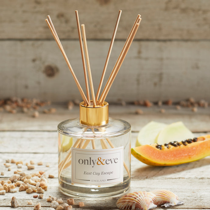 East Cay Escape 200ml Luxury Scented Reed Diffuser