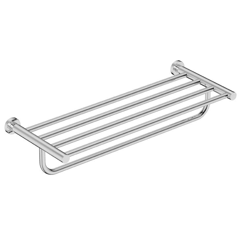 4693- Towel Shelf & Hang Bar - Polished