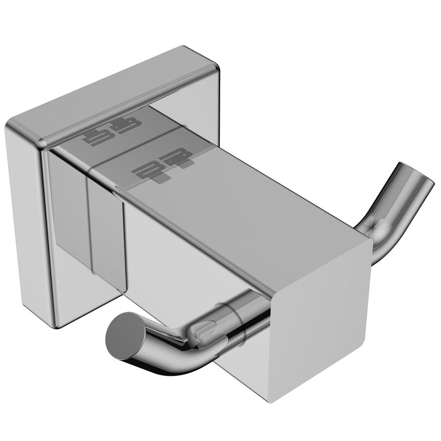 8511- Robe Hook Double - Polished