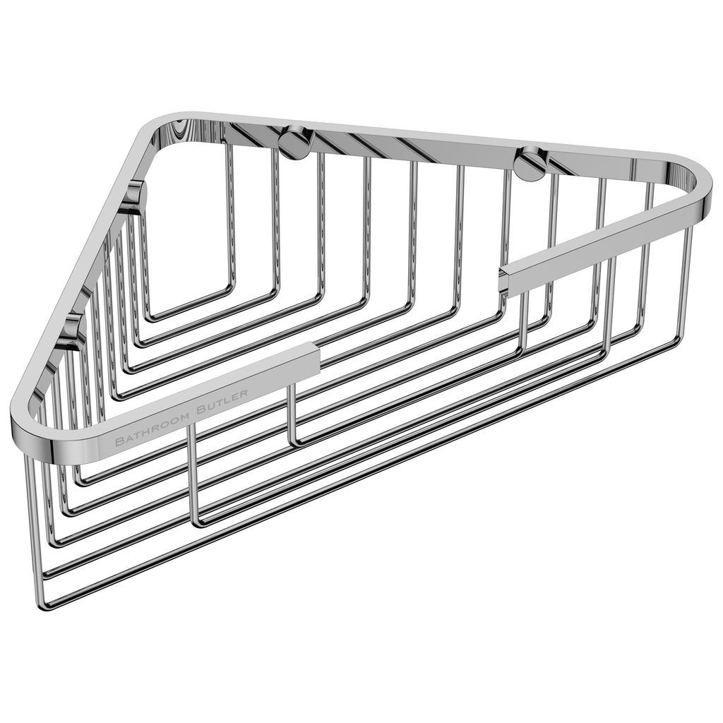 9115- Shower Basket Corner - Polished