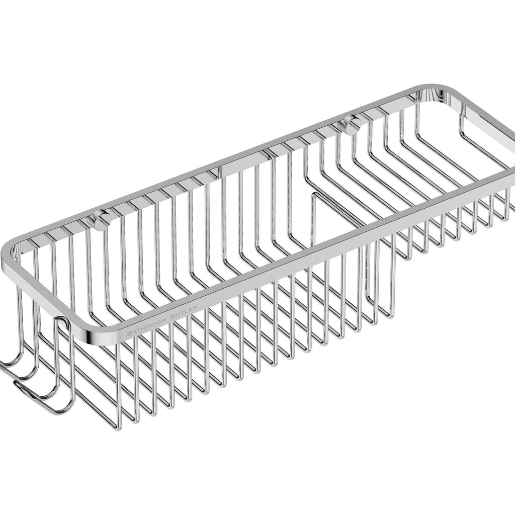 9122- Shower & Soap Basket Combo - Polished
