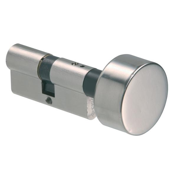 08520 - Knob Cylinder - Nickel Plated