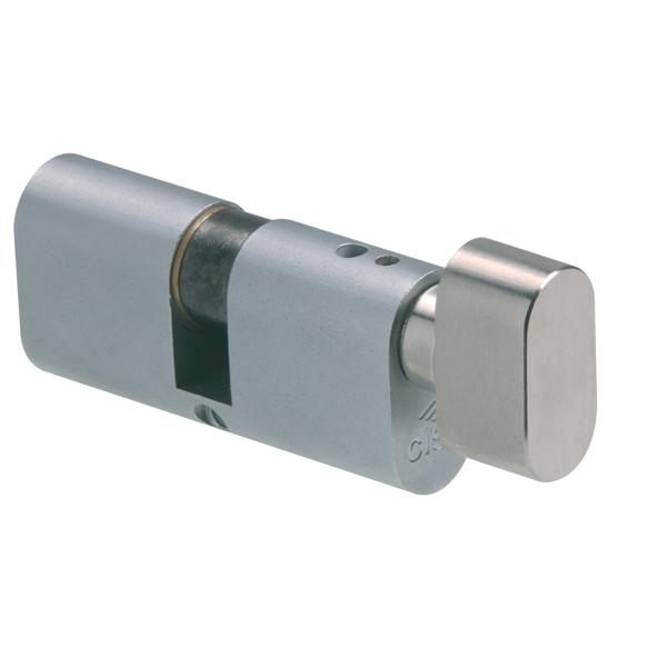 09023 - Knob Cylinder - Nickel Plated