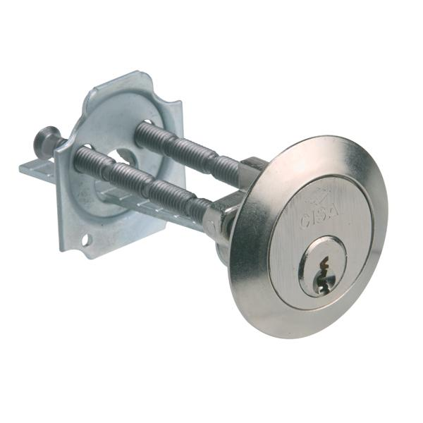 0G500 - Night Latch Cylinder - Nickel Plated