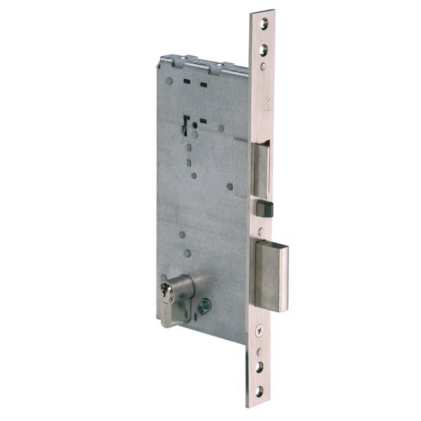 12016 - Mortice Electric Lock - Nickel Plated