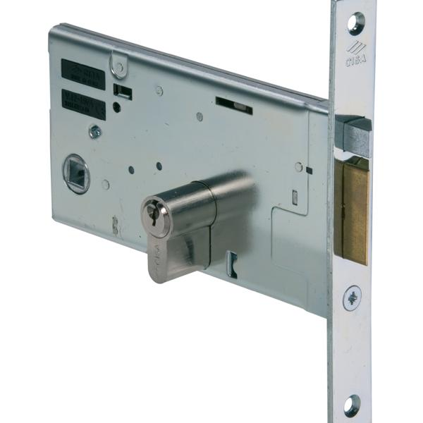 14351 - Mid-rail Electric Lock - Nickel Plated