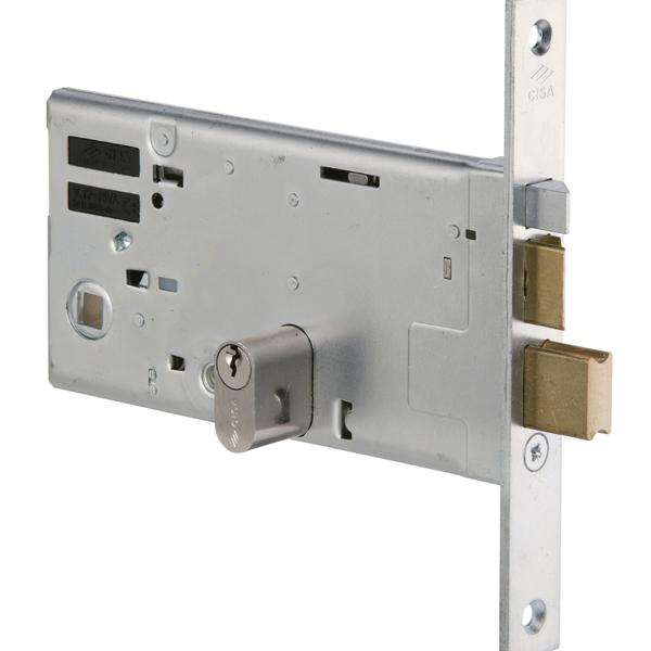 14461 - Mid-rail Electric Lock - Nickel Plated