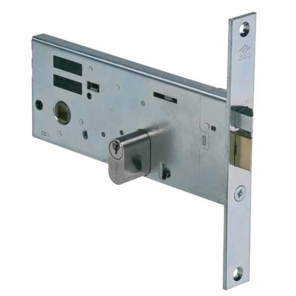 14511 - Mid-rail Electric Lock - Nickel Plated