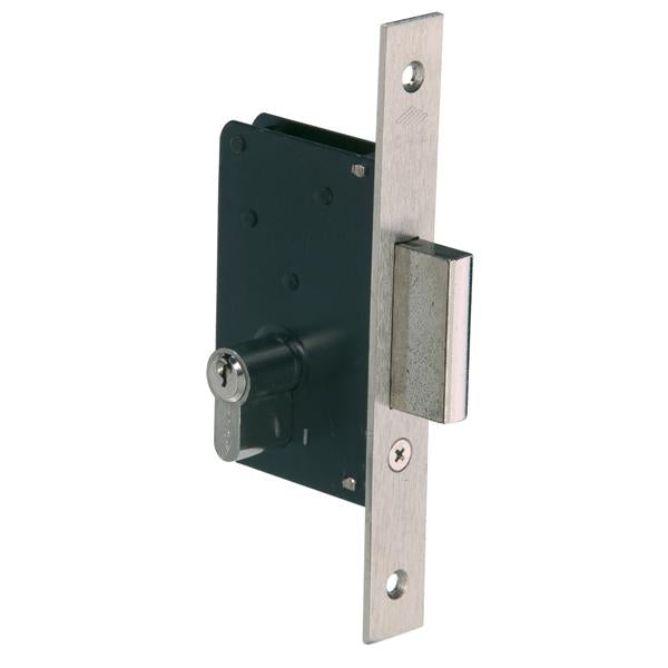 52210 - Single Throw Deadbolt Lock - Nickel Plated