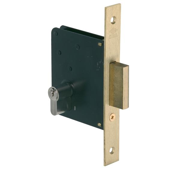 52310 - Double Throw Deadbolt Lock - Brass