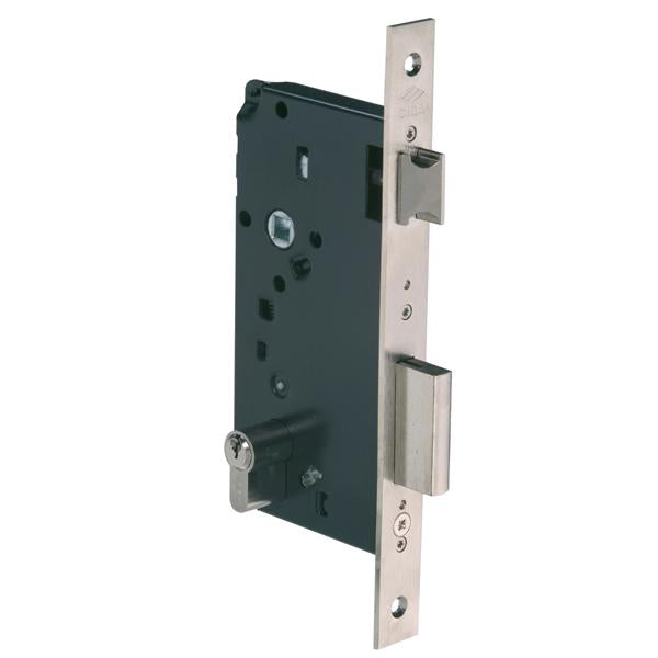 5C110 - Latch & Double Throw Deadbolt Lock - Nickel Plated