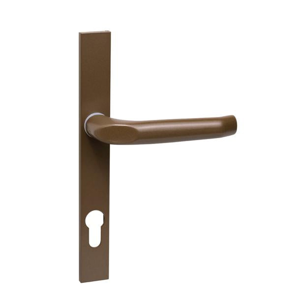H28SB - Slimline Aluminium Lever Handle Set - Bronze