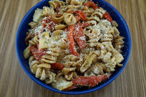 The Italian Stallion: Beef, Peppers & Onion Pasta Skillit Cooking