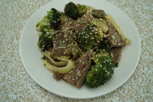 Savory Steak Stir-Fry with Onions & Broccoli Skillit Cooking