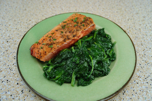 asian-style-salmon-&-spinach-skillit-simple-easy-recipes-dinner-skillet