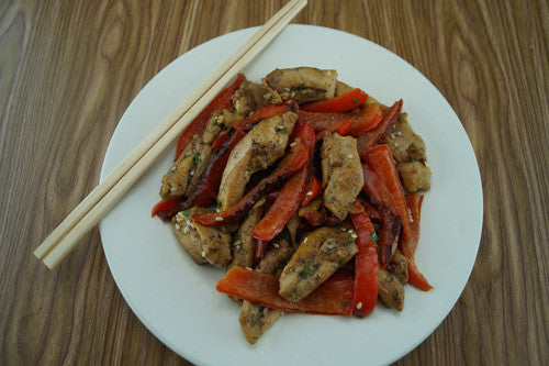 Asian-Style Chicken & Peppers Stir-Fry Skillit Cooking