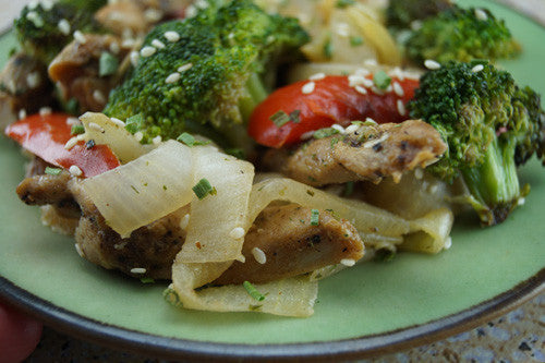 The Game-Changing Stir-Fry: Chicken, Broccoli, Bell Pepper & Onion Skillit Cooking