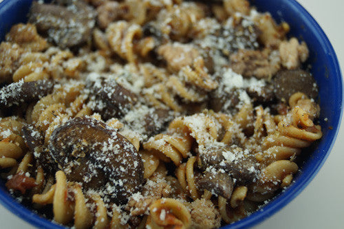 Hearty Meat & Mushroom Pasta Skillit Cooking