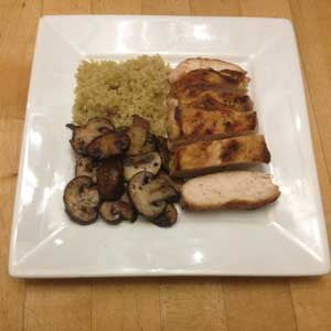 pan-seared-chicken-&-mushrooms-with-quinoa-skillit-simple-easy-recipes-dinner-skillet