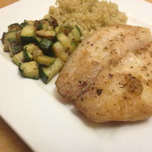 sesame-ginger-whitefish-with-quinoa-&-zucchini-skillit-simple-easy-recipes-dinner-skillet