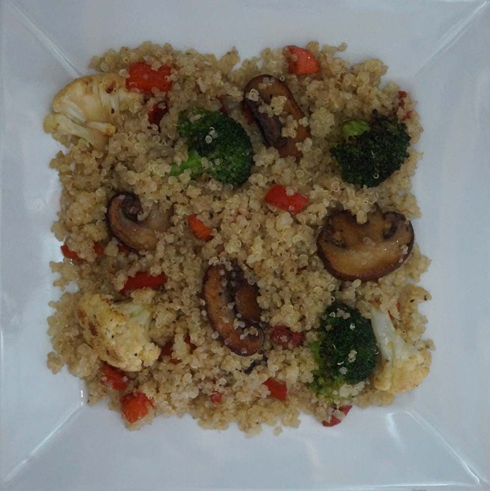 skillit-cooking-simple-easy-recipe-quinoa-broccoli-cauliflower-mushroom-carrot