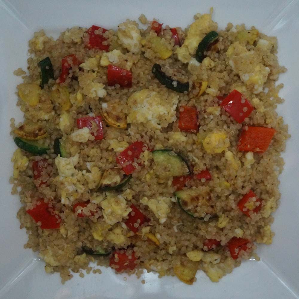 skillit-cooking-simple-easy-recipe-quinoa-egg-bellpepper-squash-zucchini