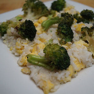 easy-fried-rice-with-broccoli-&-eggs-skillit-simple-easy-recipes-dinner-skillet