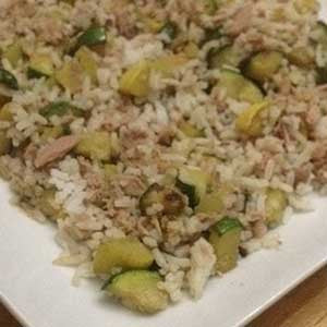 fried-rice-with-squash,-zucchini-&-tuna-skillit-simple-easy-recipes-dinner-skillet