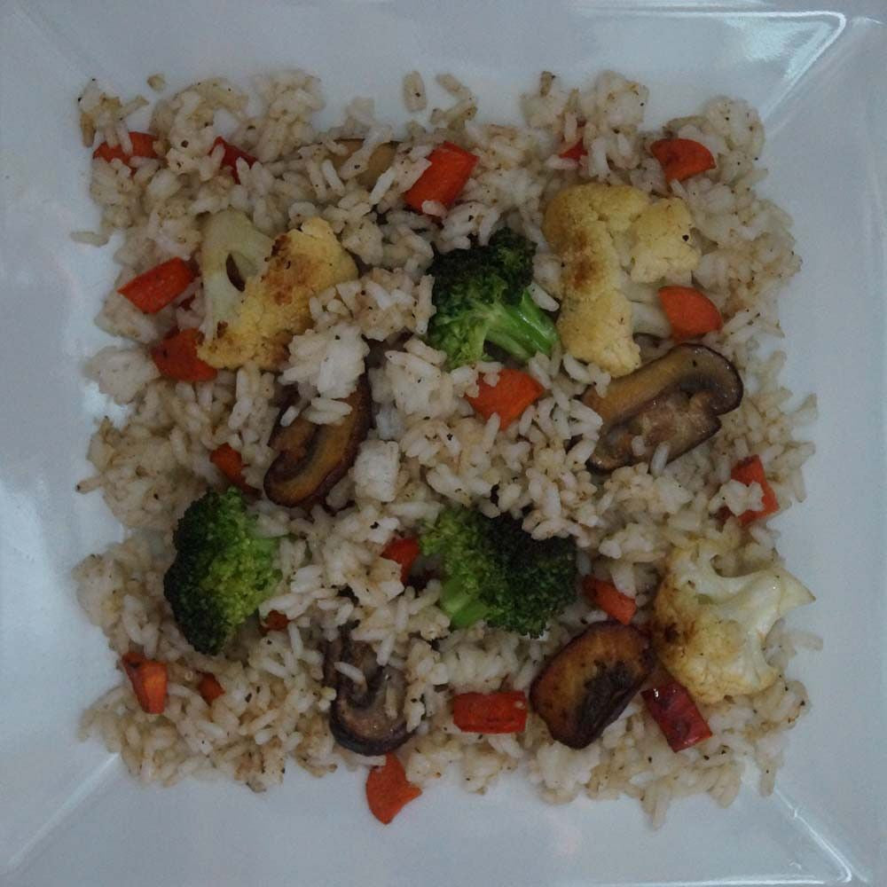 skillit-cooking-simple-easy-recipe-rice-broccoli-cauliflower-mushroom-carrot
