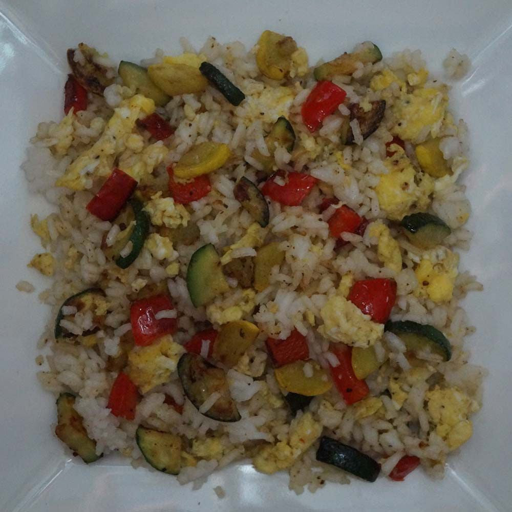 skillit-cooking-simple-easy-recipe-rice-egg-bellpepper-squash-zucchini