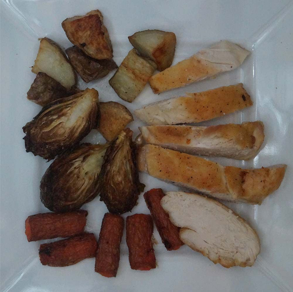 skillit-cooking-simple-easy-recipe-roast-chicken-potato-brusselssprout-carrot