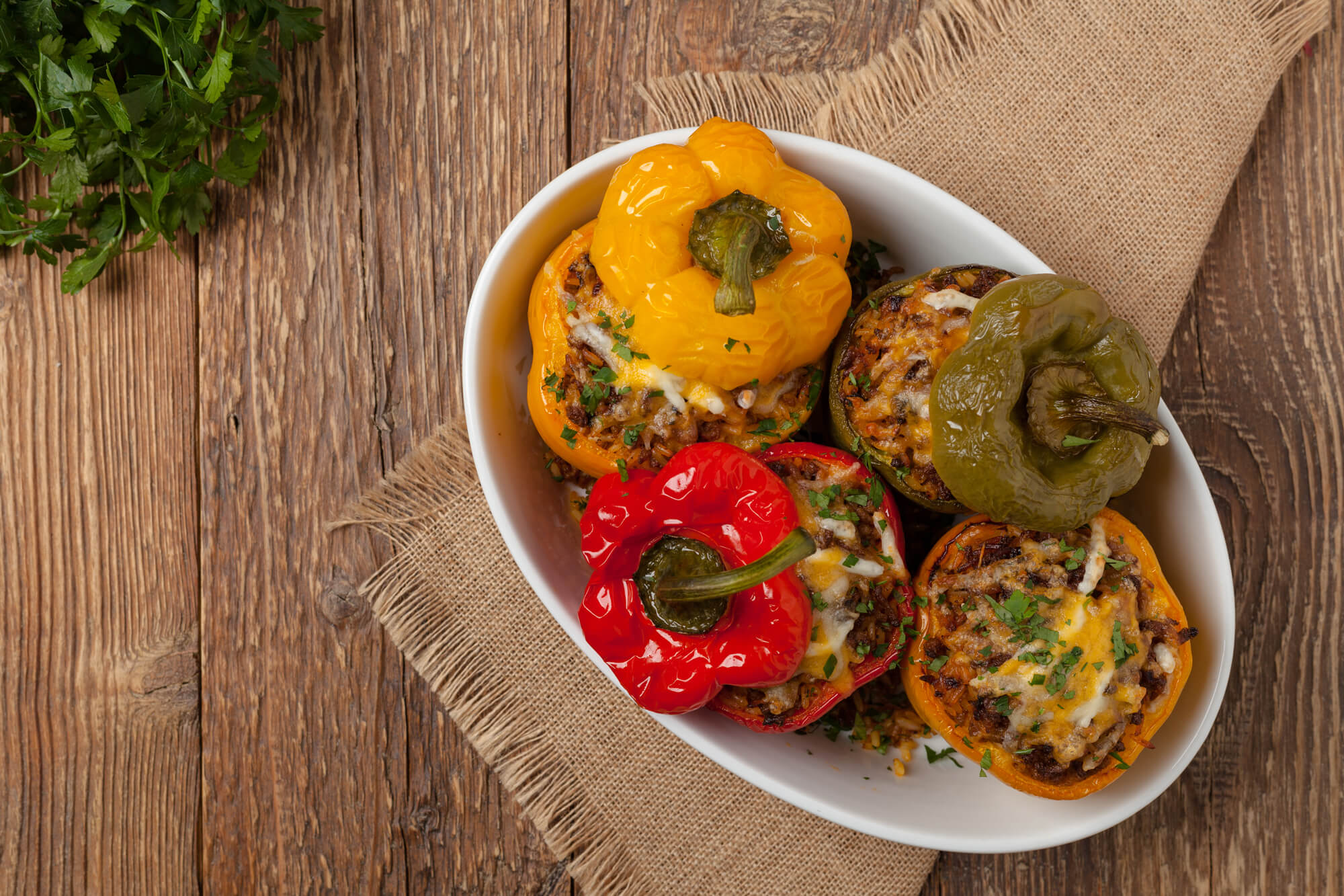 Sizzle's Classic Stuffed Peppers