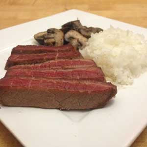 quick-&-easy-steak,-rice-&-mushrooms-skillit-simple-easy-recipes-dinner-skillet