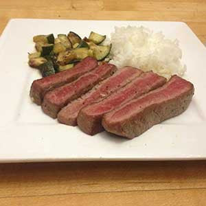 garlic-rosemary-steak-&-zucchini-with-rice-skillit-simple-easy-recipes-dinner-skillet