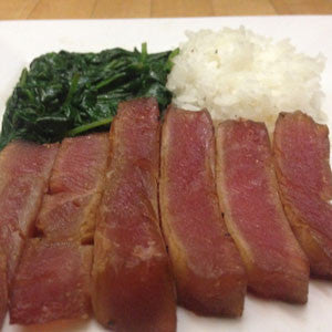 sesame-seared-ahi-with-spinach-&-rice-skillit-simple-easy-recipes-dinner-skillet