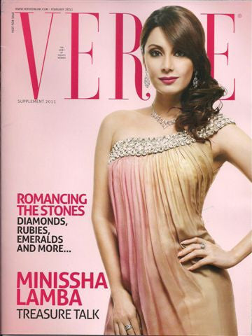 VERVE Cover, September 2011