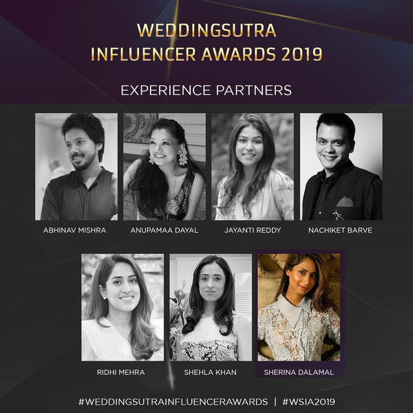 Sherina Dalamal as Wedding Sutra Awards 2019 Experience Partner