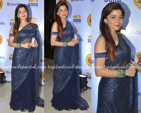 Kanika Kapoor in Cherie D as seen on HighHeelConfidential
