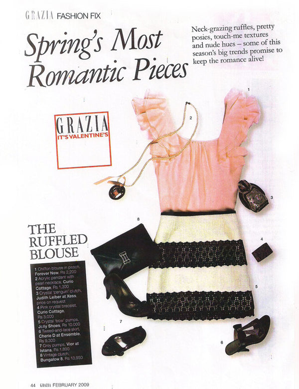CHERIE D's Romantic Fix in Grazia