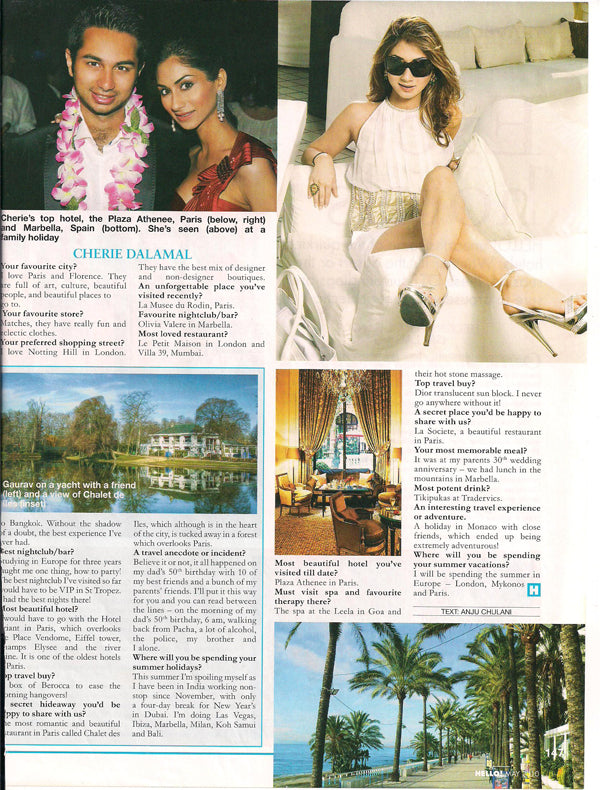 Sherina Dalamal in HELLO! May 2011