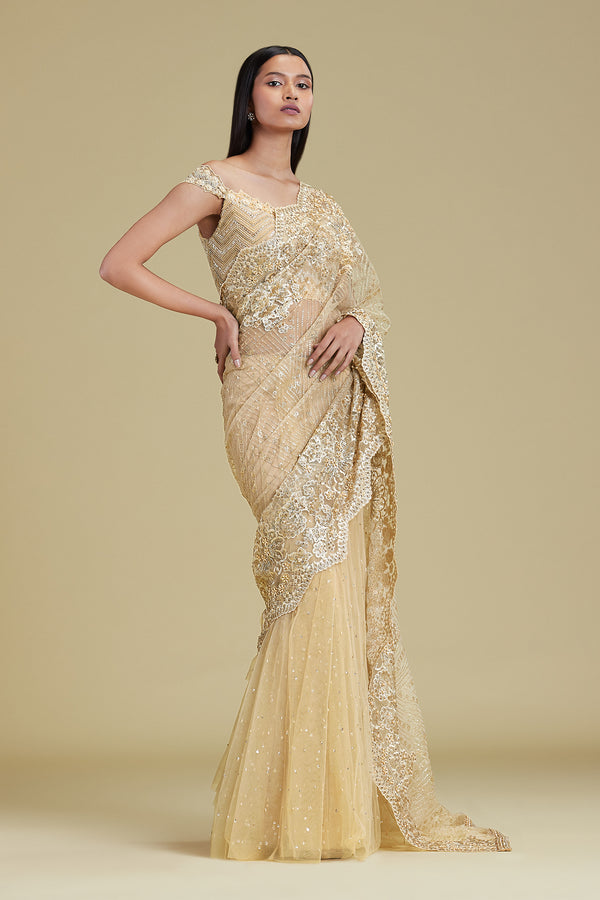 MIDAS CHEVRON SAREE