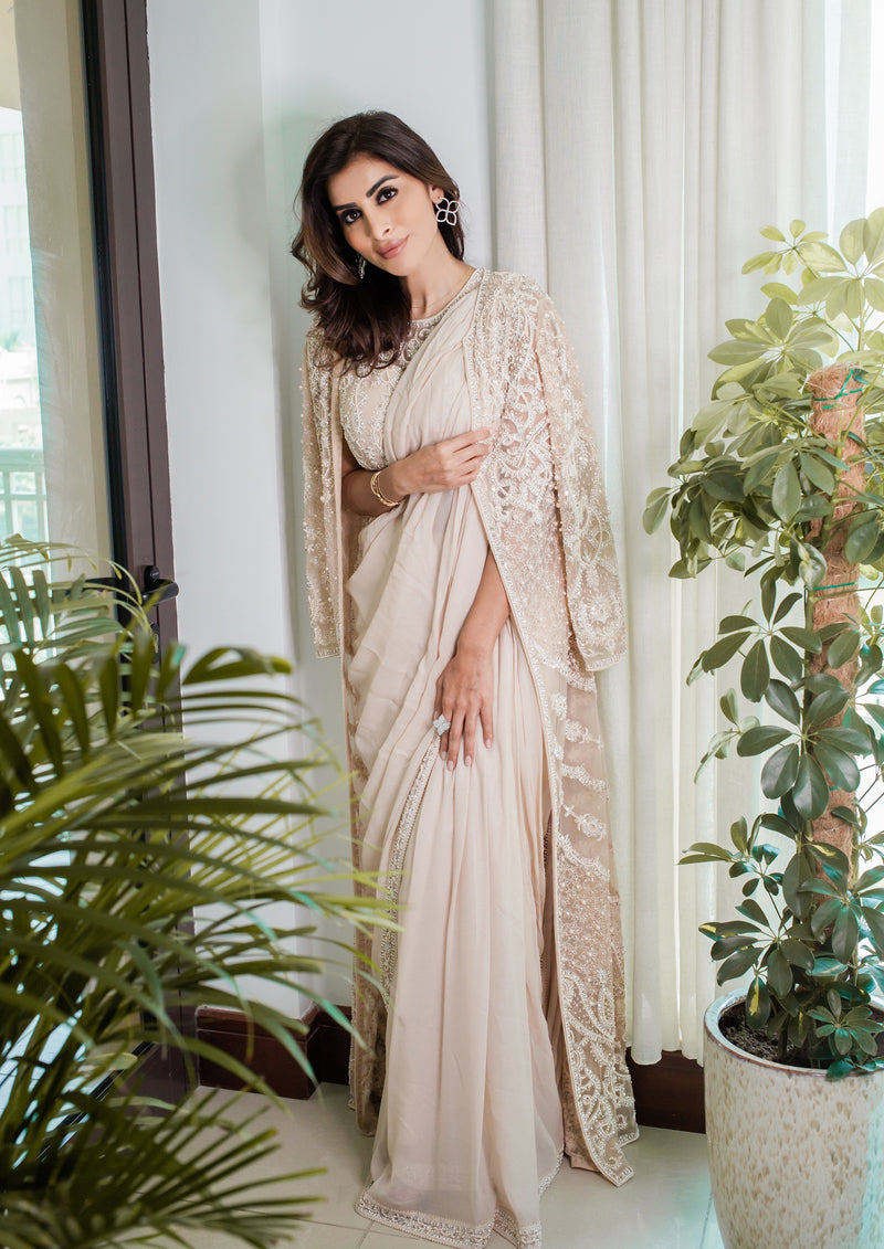 STARLIGHT JACKET SAREE