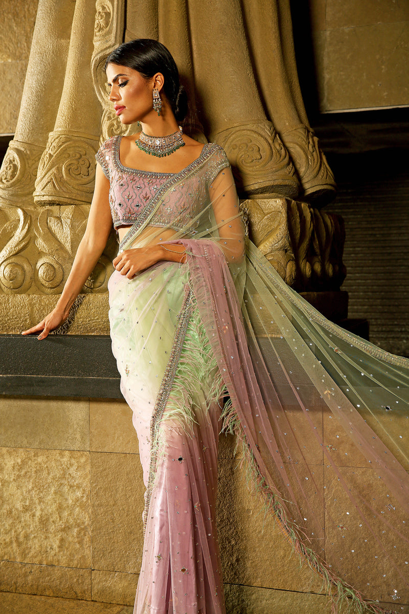 The Unicorn Saree